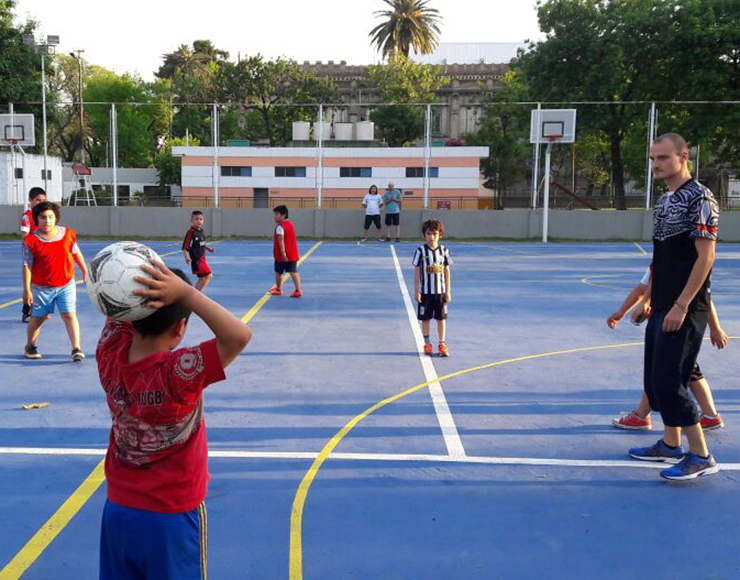 Football for Kids in Argentina