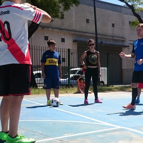 Coach Football in Argentina