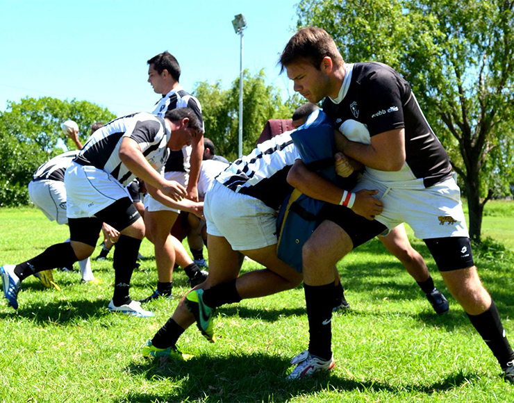 Rugby Training Session in Argentina
