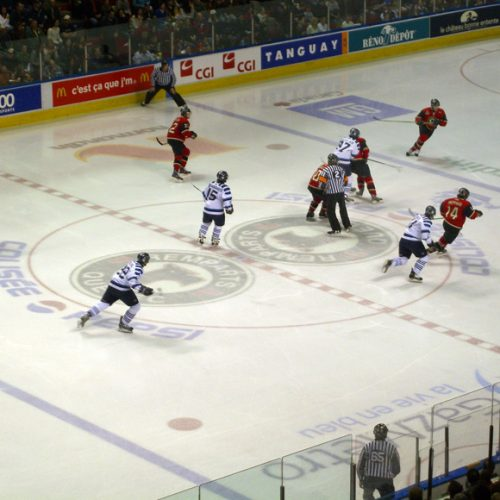 Ice Hockey Match Canada