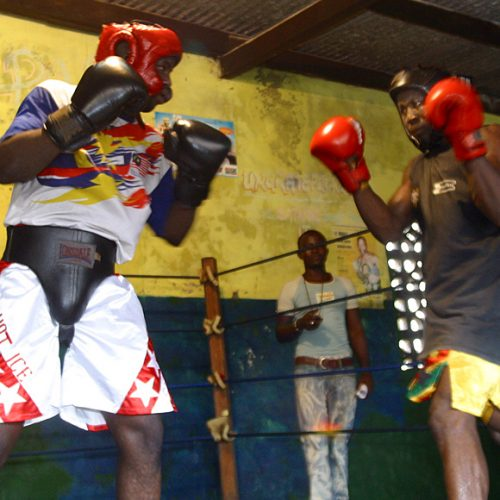 Boxing Gym in Ghana