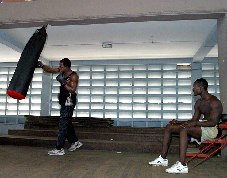 Boxing Training Experience Abroad
