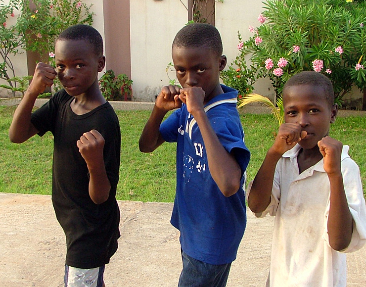 Young Ghanaian Boxers