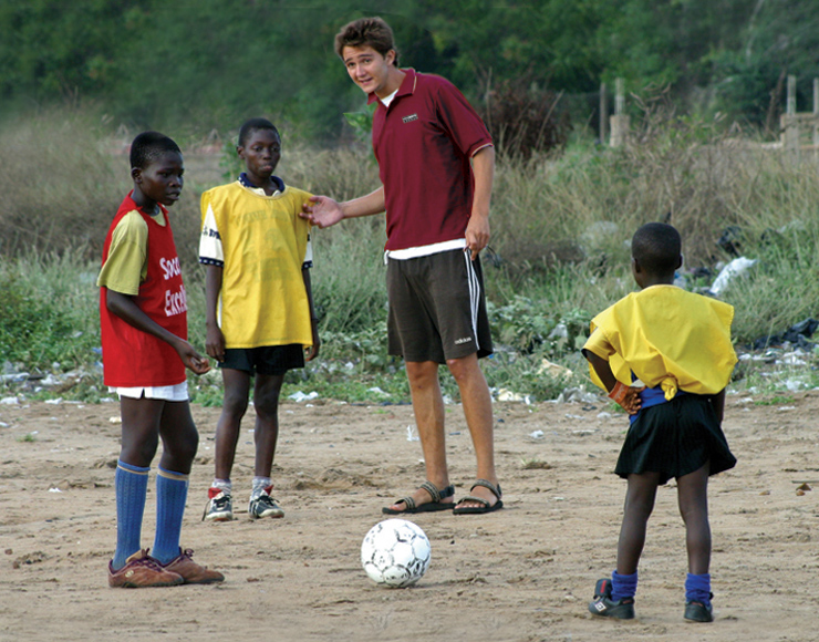 Nick Sydney-Smith: Football Coaching & Playing in Ghana