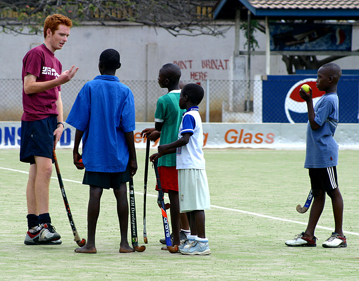 Graeme Acheson: Hockey Coaching and Playing Project in Ghana