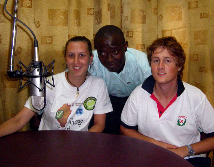 Ghana Radio Interview on Tennis