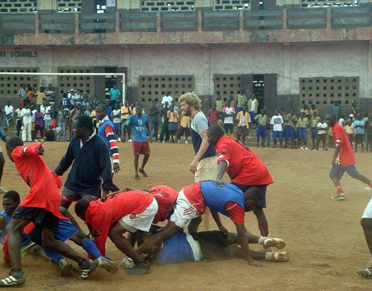 Play Rugby in Africa
