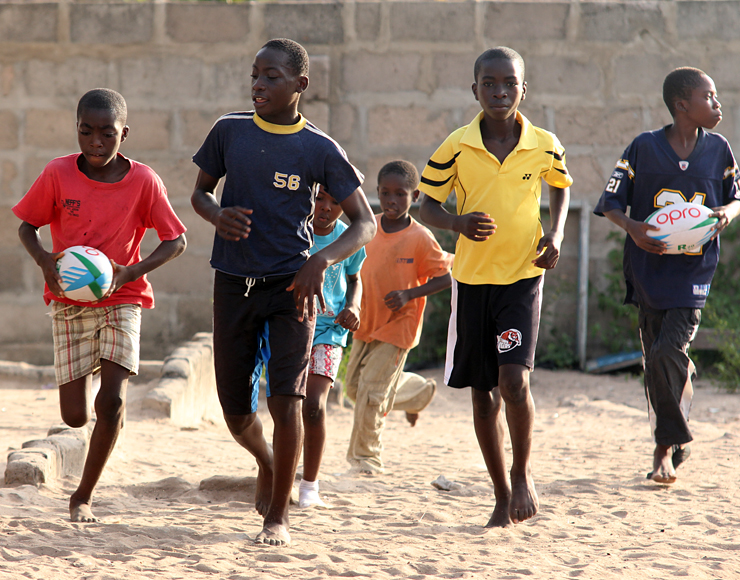 Rugby Training Project Ghana