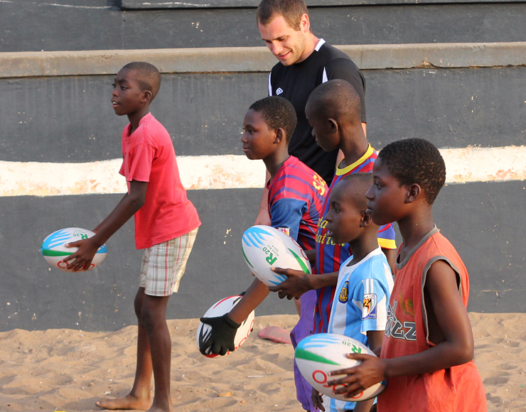 Ed Wander: Rugby Coaching and Playing Project in Ghana