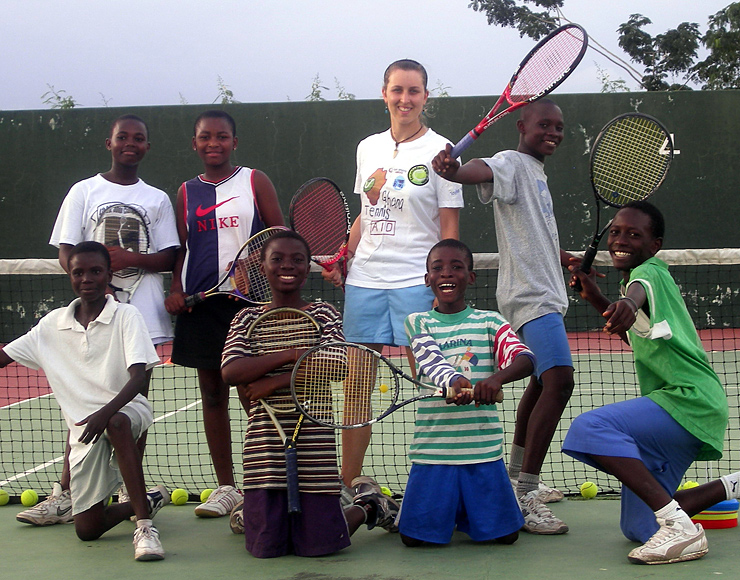 Tennis Coaching Project Africa