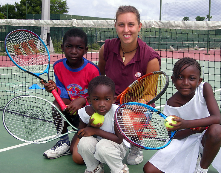Sally Bolton: Tennis Coaching and Playing Project in Ghana