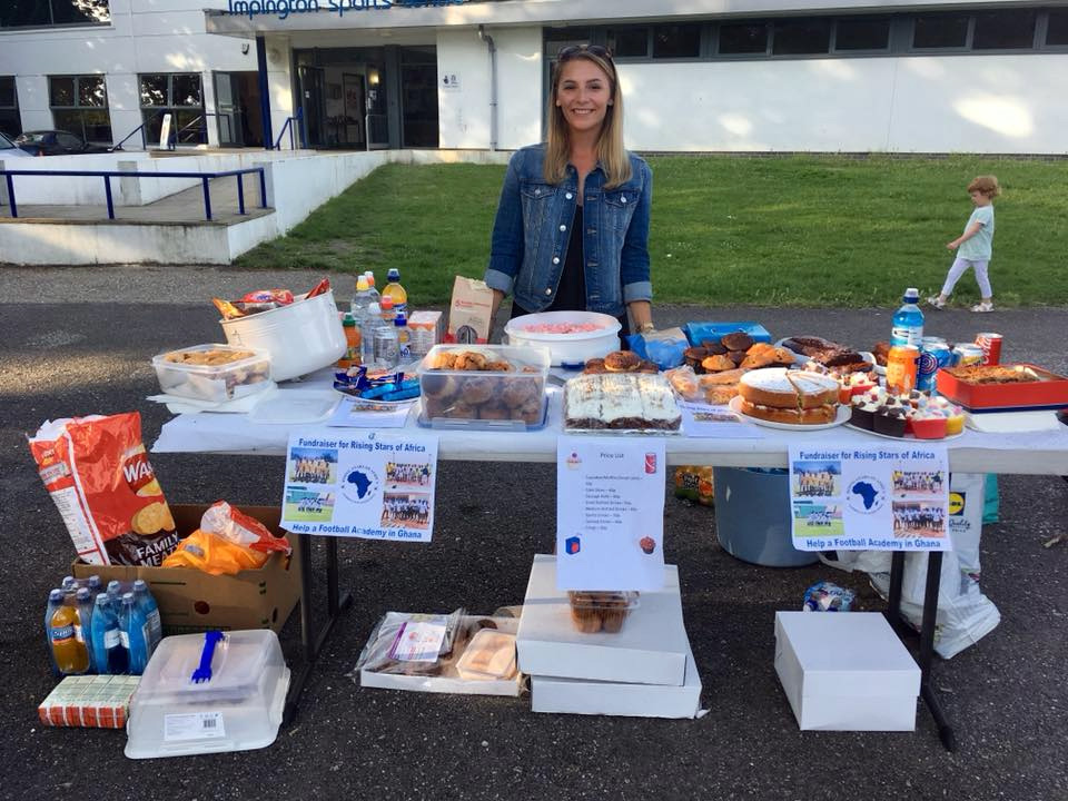 Linzi Mirams Fundraising for Ghana Physio Project
