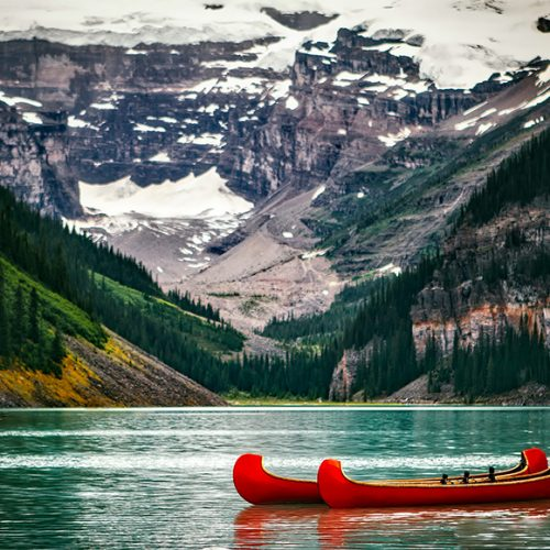 Lake Louise Canoeing Canada