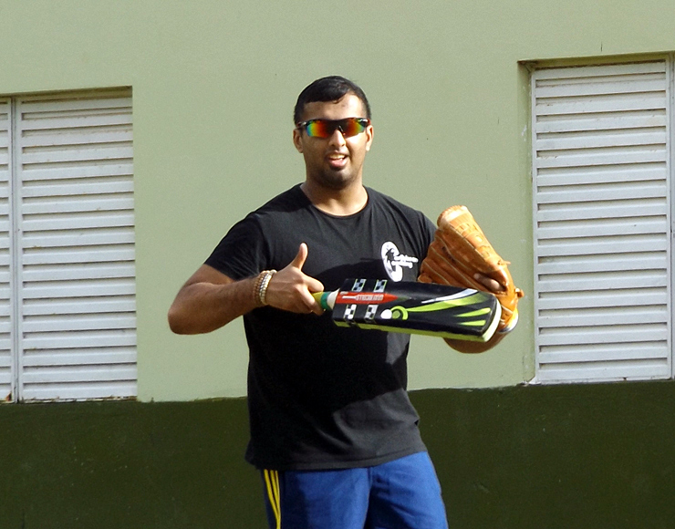 Manish Patel: Cricket Coaching and Playing Project in St Lucia