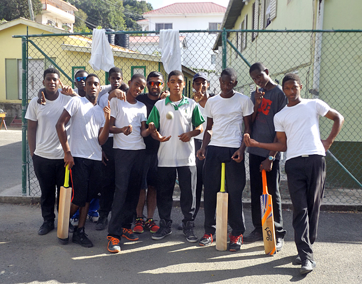 Young Cricketers in Caribbean