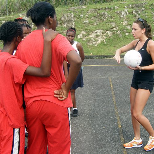 Coach Netball in St Lucia