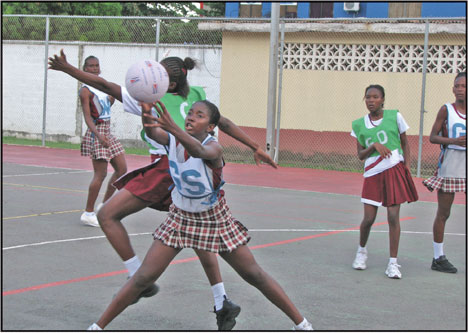 Netball in St Lucia