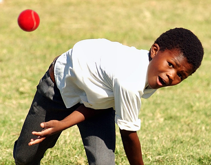 South African Cricket Kid
