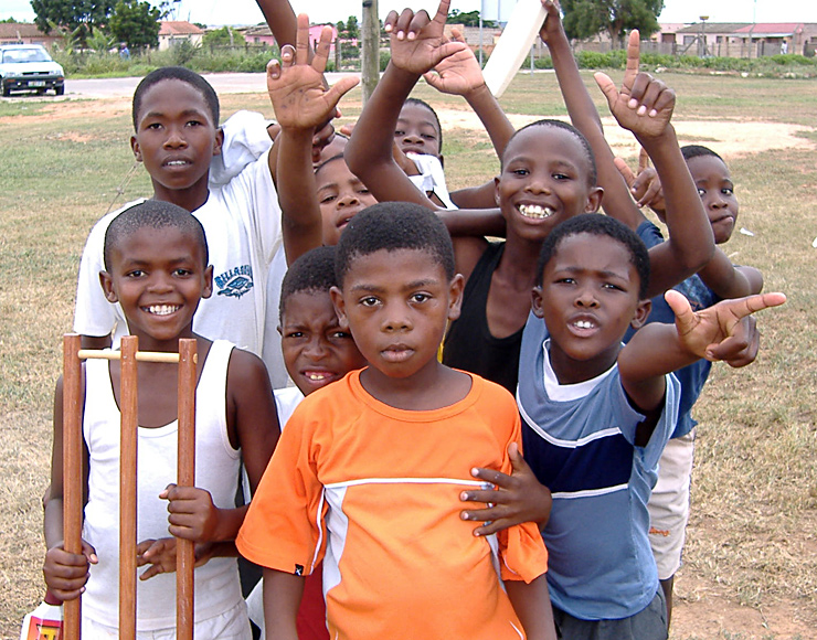 Coach Cricket to Kids South Africa