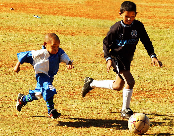 Football for Kids in South Africa