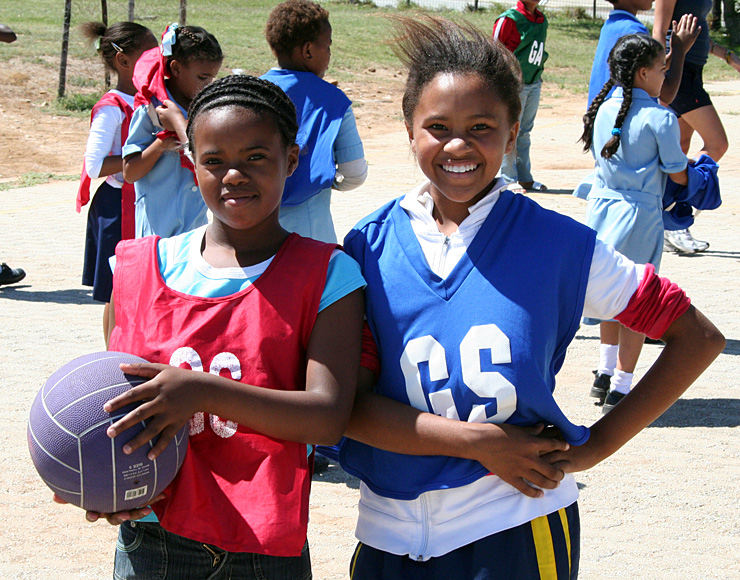 Young Netball Players South Africa