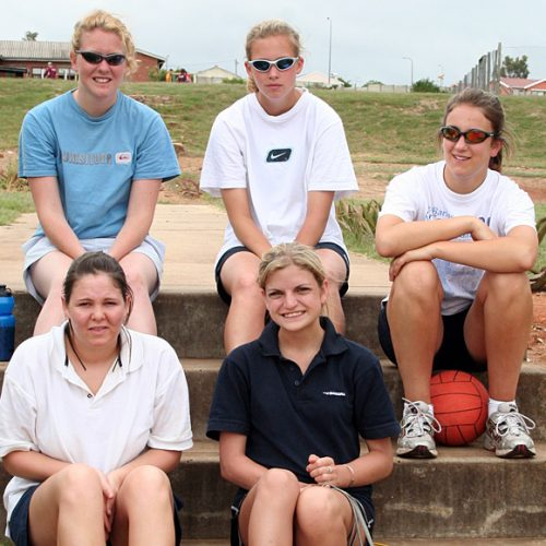 Volunteer Netball Coaches, South Africa