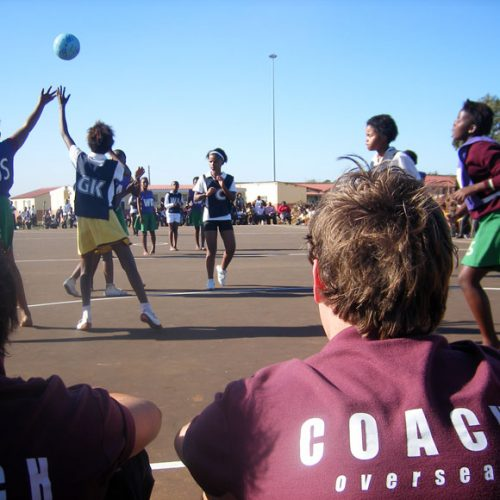 Coach Netball in South Africa