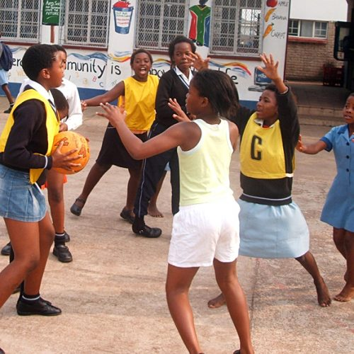Netball Community Project, South Africa