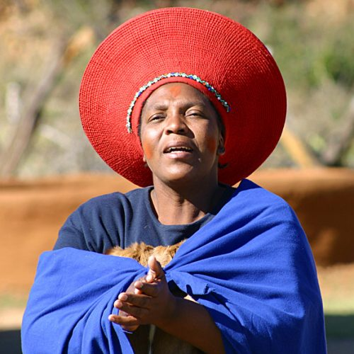 South African Traditional Lady