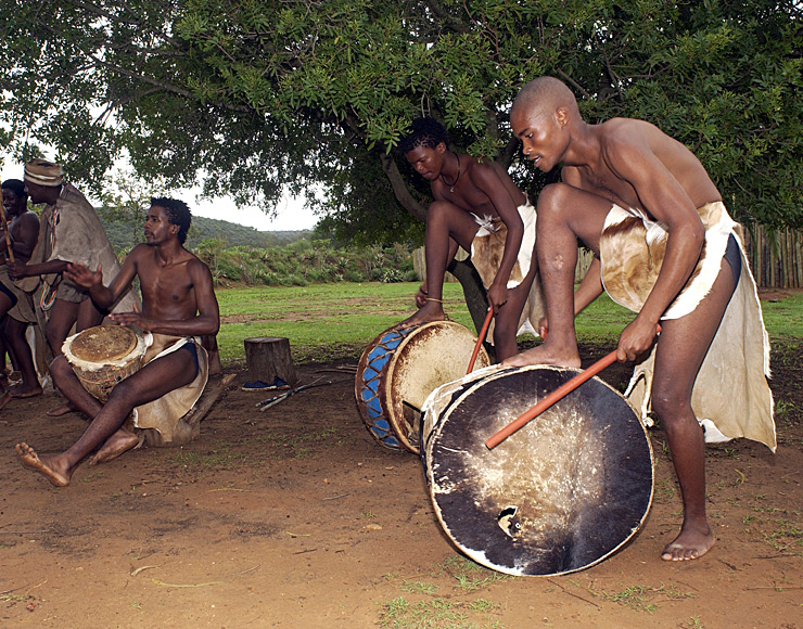 Traditional African Drummers South Africa