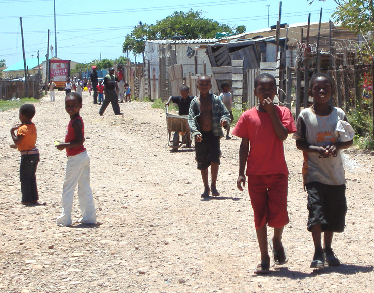 Township Streets South Africa