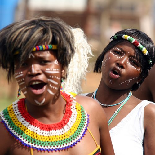 Traditional South Africa Dancers