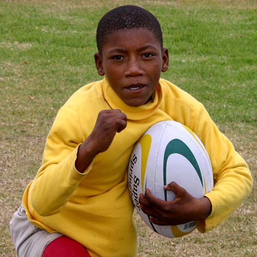 Young Rugby Player