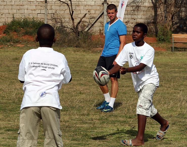 Coach Rugby to Kids, South Africa