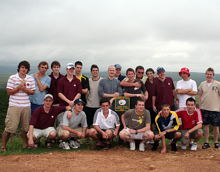 Rugby Group on Safari