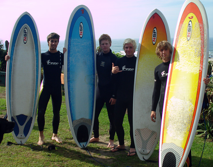 Surf in South Africa, Jefferies Bay