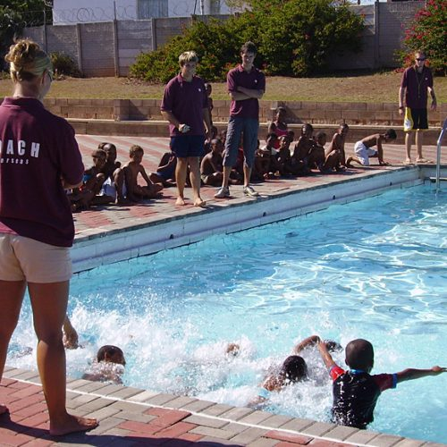 South Africa Swimming Project