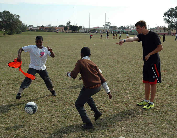 Liz Gould: Parent Feedback on her son's Football Coaching in South Africa
