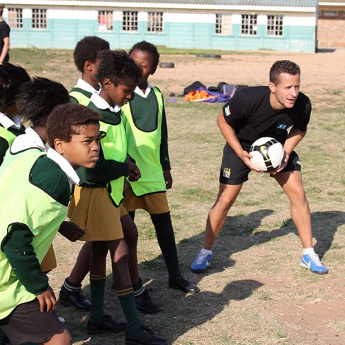 Football Coaching Project for Girls, South Africa