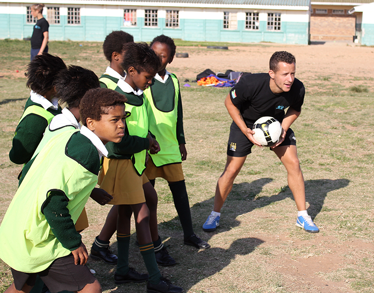 Neil Barnes: Football Coaching and Playing Project in South Africa