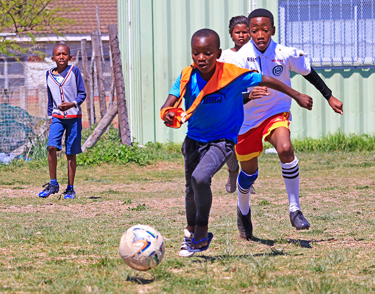 Football Kids in South Africa