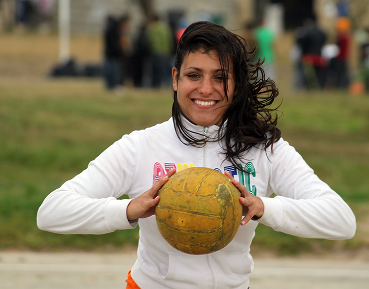 Hayley Edwards: Netball Coaching and Playing Project in South Africa