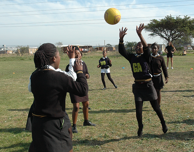 Community Netball Project South Africa