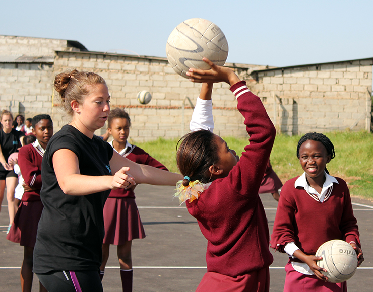 Sophie Harrison: Netball Coaching and Playing Project in South Africa