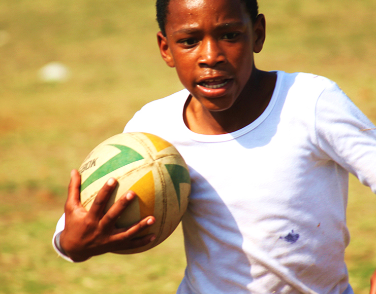 Young Rugby Player, South Africa