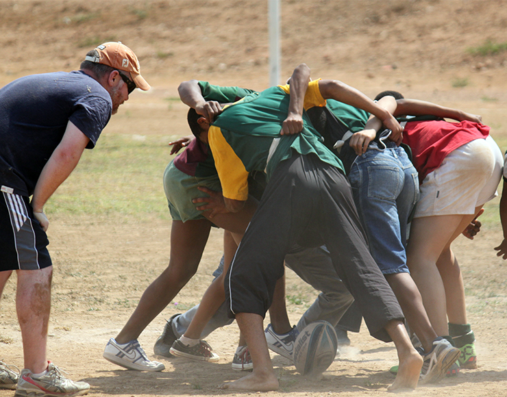 Rugby Coaching for Kids, South Africa