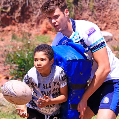 Coach Rugby in South Africa