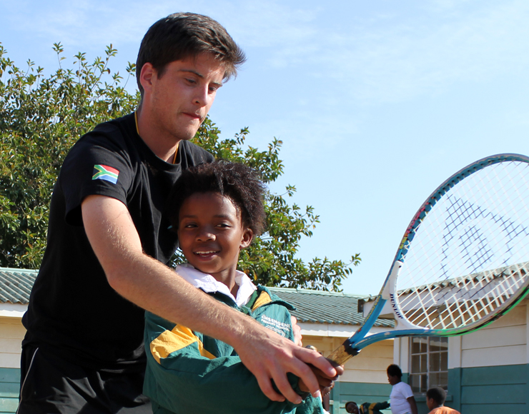 James Moult: Tennis Coaching and Playing Project in South Africa