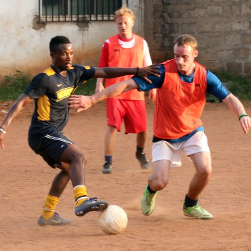 Play Football in Africa