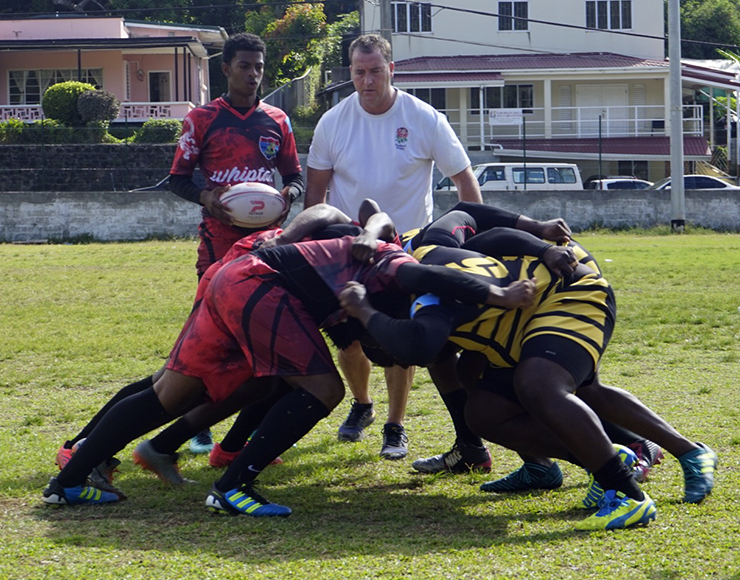 Rugby Coaching St Lucia